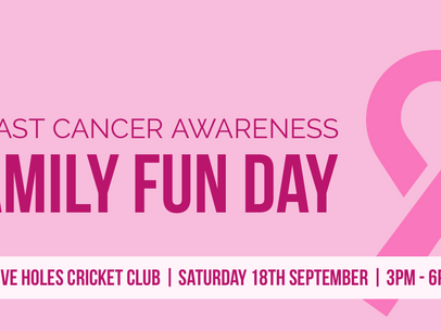 Family Fun Day | Breast Cancer Awareness