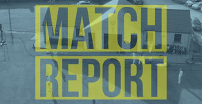 Match Report | Saturday 14th September