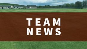 Team News   Saturday 19th June