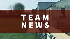 Team News   Saturday 8th May