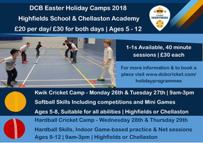 DCB Easter Holiday Camps
