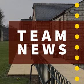 Team News | Newton V Dove Holes | Saturday 25th July