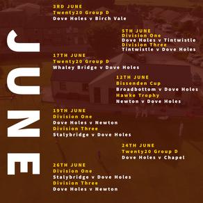 Cricket in June