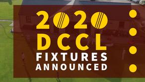 2020 Fixtures Announced