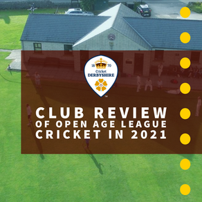 Club Review of Open Age League Cricket in 2021