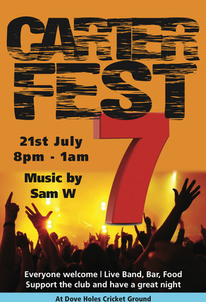 CARTERFEST 7 | Saturday 21st July