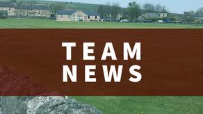 Team News   Saturday 29th May