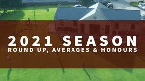 2021 Season Round Up Averages & Honours