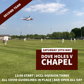 Cricket this weekend...