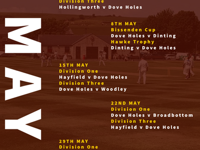 Cricket in May