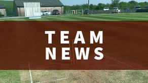 Team News   Saturday 12th June