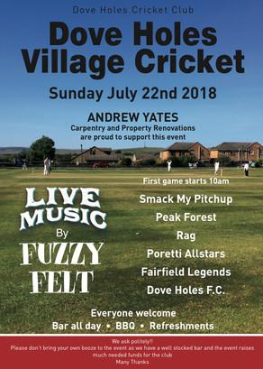 Dove Holes Village Cricket | T20 | Sunday 21st July