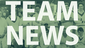 Team News  Saturday 8th September