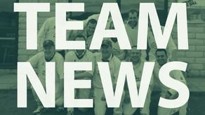 Team News Saturday 30th June