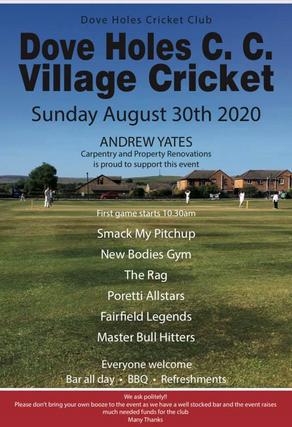 Bank Holiday Sunday | Annual Village Pub Cricket