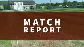 Match Report | First Team progress to Bissenden Cup Semi Finals