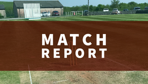 Match Report   First Team progress to Bissenden Cup Semi Finals