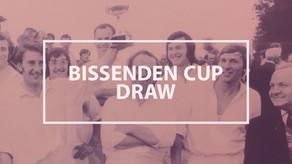 Bissenden Cup Draw
