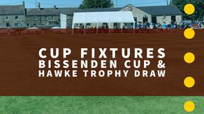 Bissenden Cup & Hawke Trophy Draw