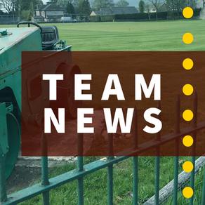 Team News | Dove Holes v Woodley | Saturday 5th September