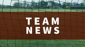 Team News   Saturday 22nd May