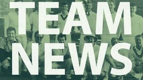Team News   Saturday 2nd & Sunday 3rd June