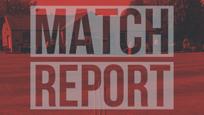 Match Report | Saturday 3rd August
