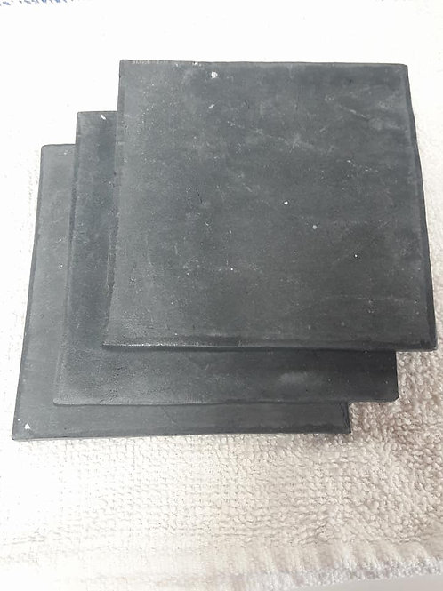 """Square Coral Tile 4"""" onyx"""