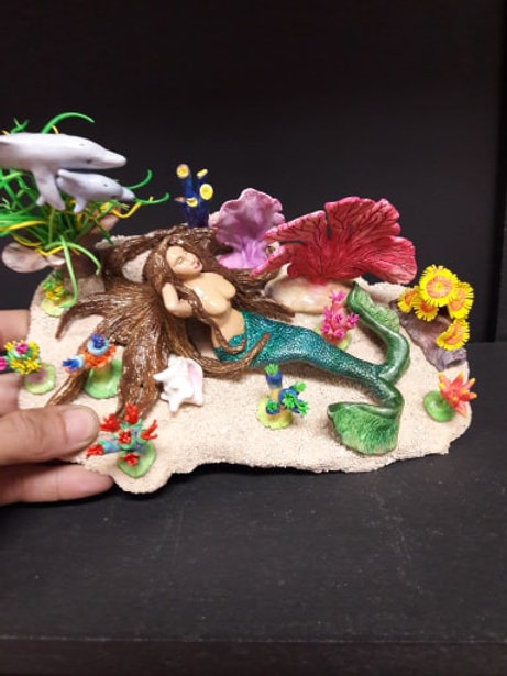 Mermaid Garden with Aquascape