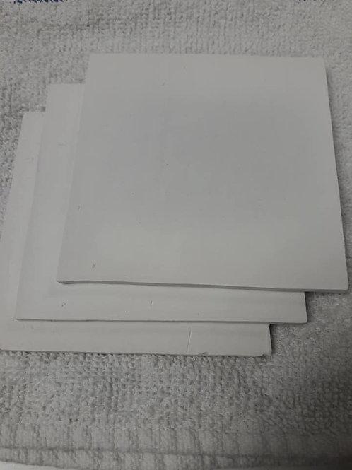 """Square Coral Tile 4"""" white (Wholesale)"""