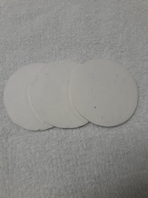 "Coral Disc 3"" white  (Wholesale)"