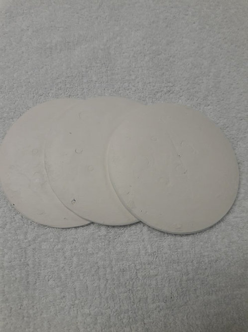 "Coral Disc 4"" white"
