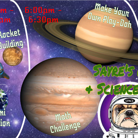 Math and Science Night: Preview