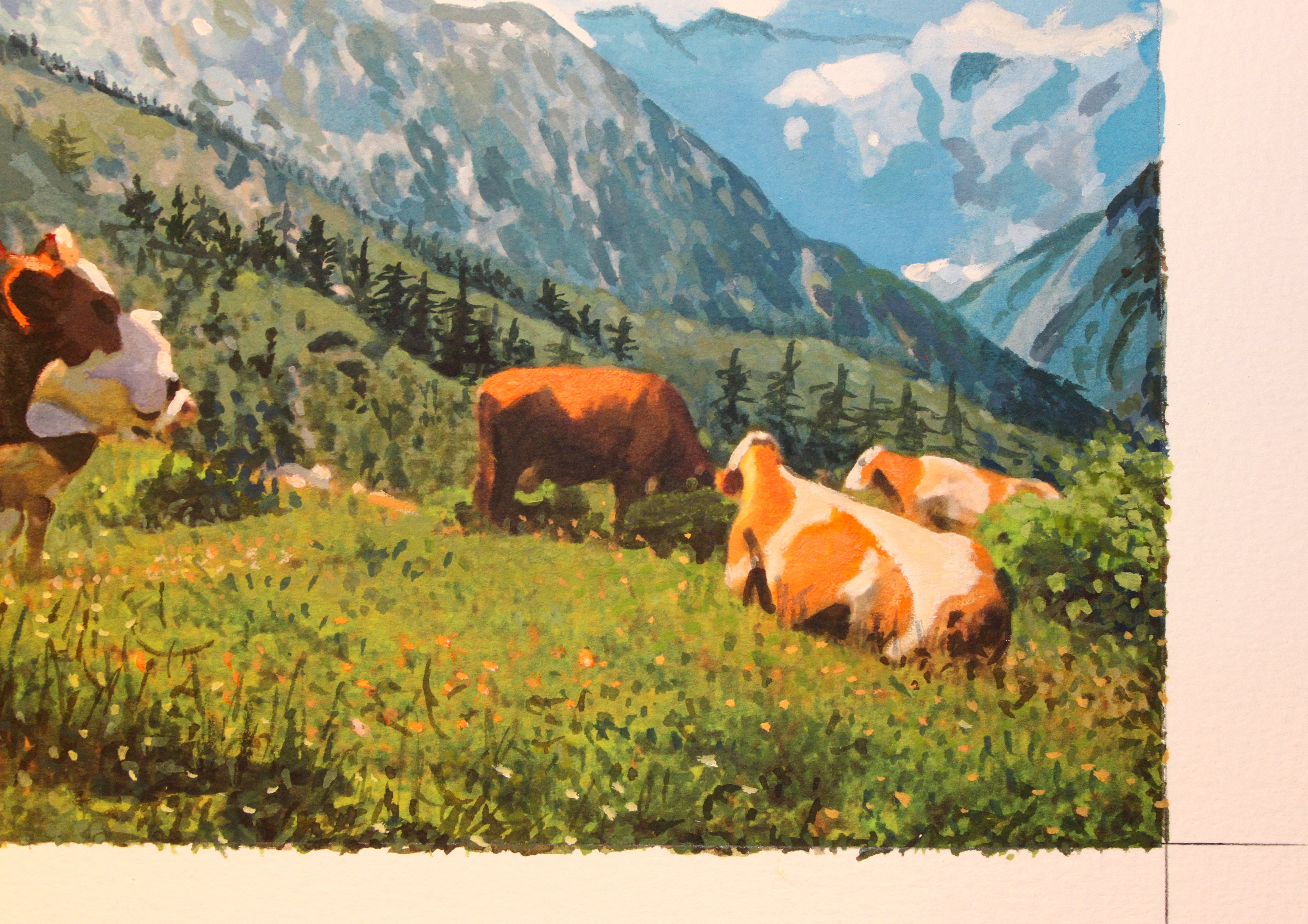 Detail of Cows On Mountaint Top 2.JPG