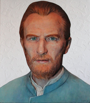 The Starry Night, A Portrait of Vincent van Gogh Hyper-Realism