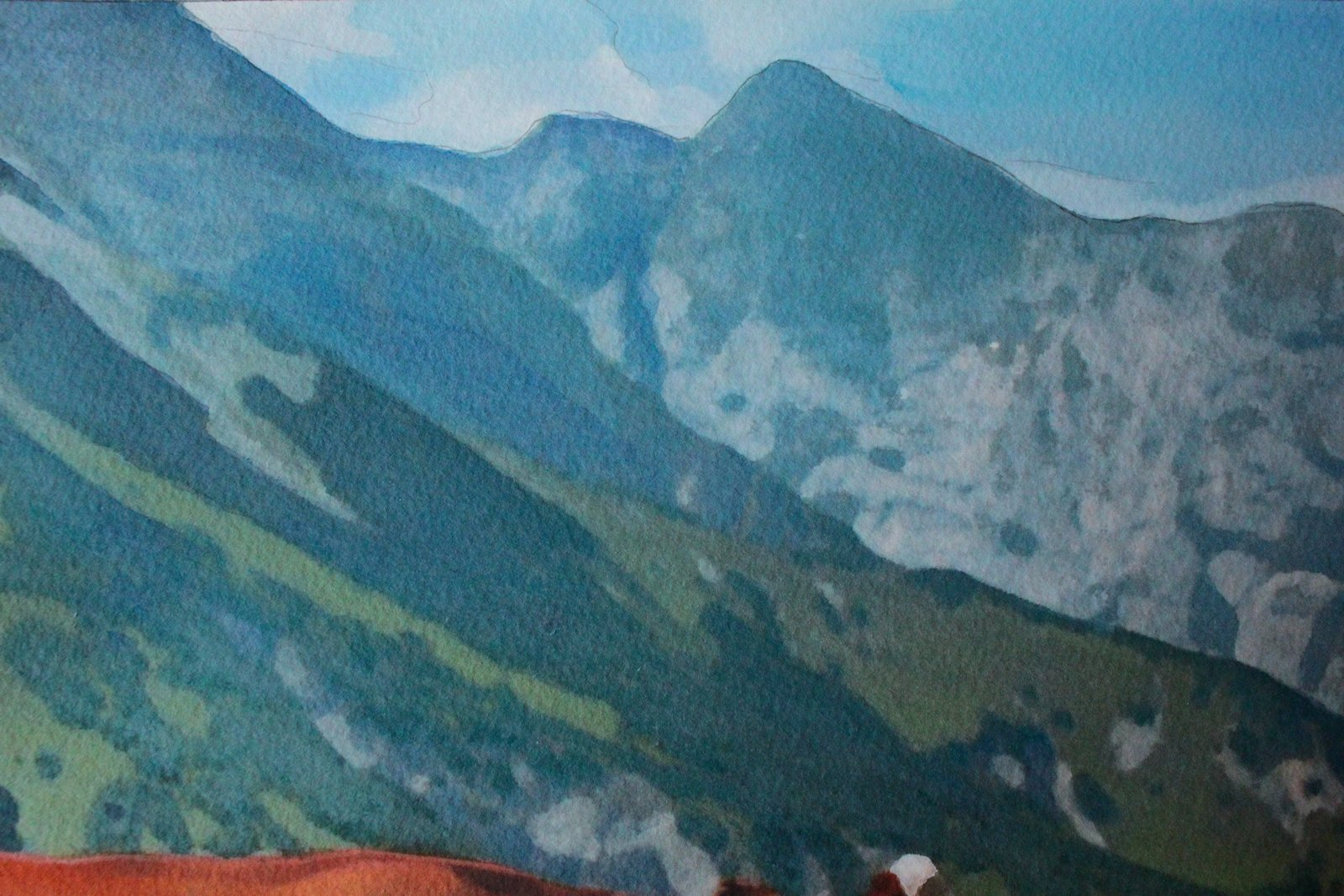 Detail of Mountain