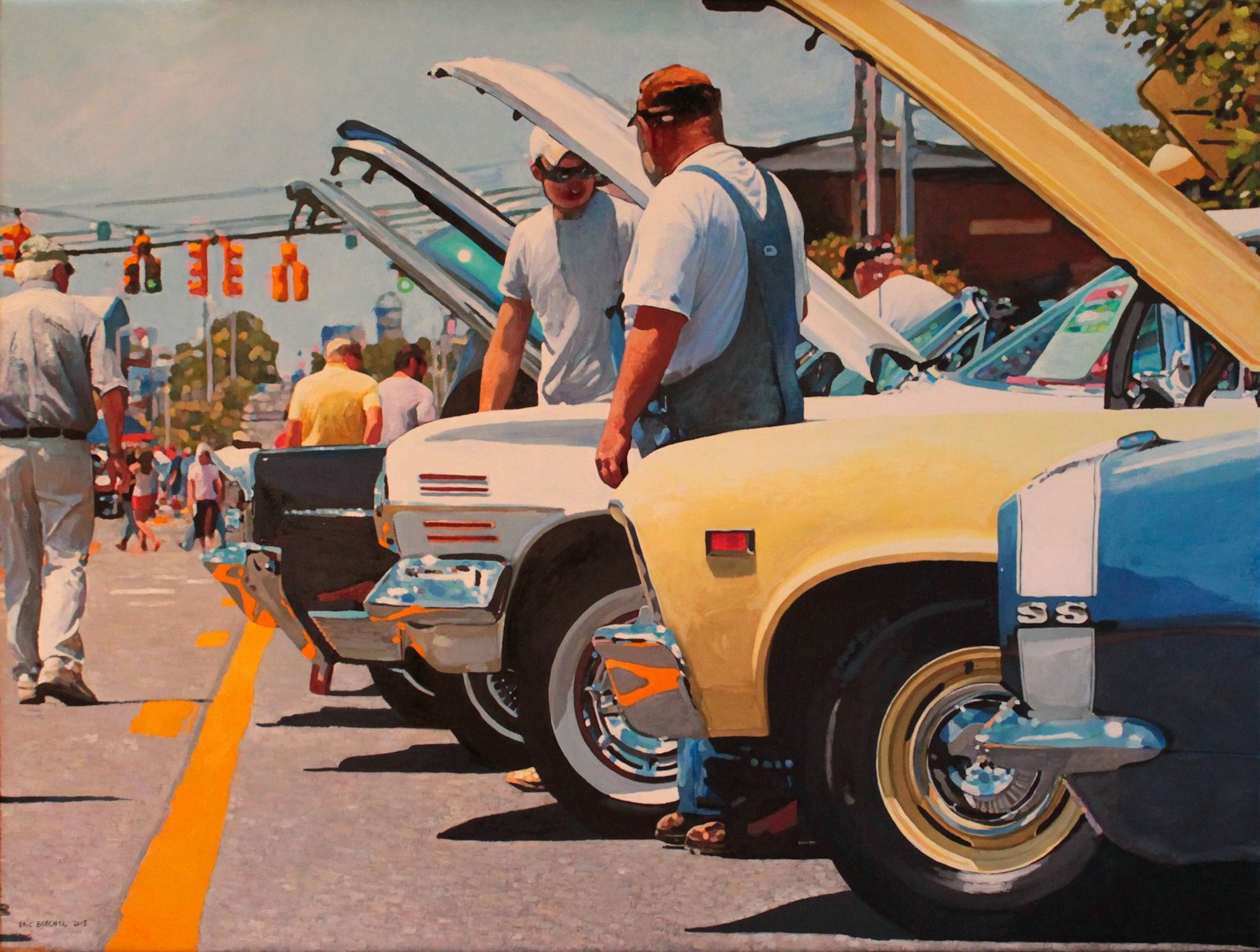 Detail of The Car Show