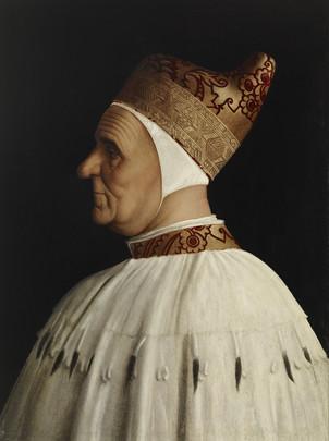 Doge Giovanni Mocenigo By Gentile Bellini