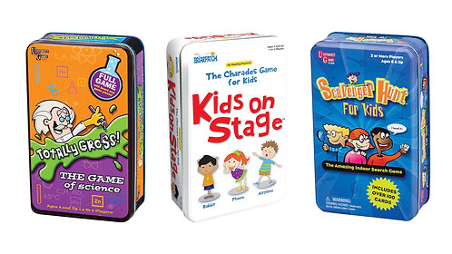Kids Tinned Game Assorted