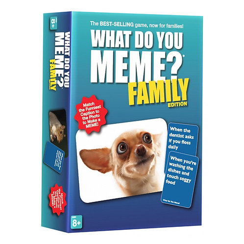 What Do You Meme Family Edition Board Game