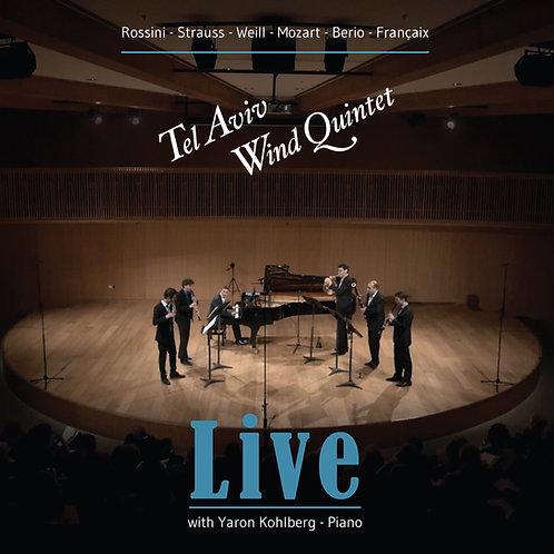 Tel Aviv Wind Quintet - Live with Yaron Kohlberg