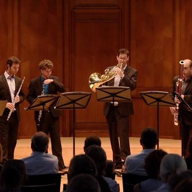 Erev Shel Shoshanim - Aronstein, Tel Aviv Wind Quintet / חמישיית תל-אביב