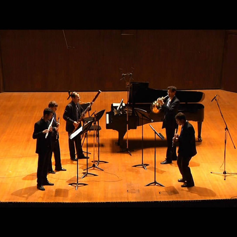 Best Wind Quintet Encore - Hindemith 4th mvt with a twist!