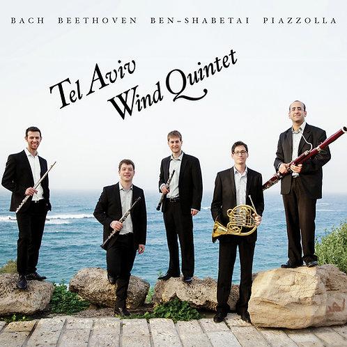 Tel Aviv Wind Quintet - Bach - Beethoven - Ben-Shabetai - Piazzola