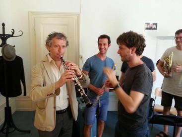 Coaching with Sergio Azzolini