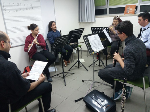 Masterclass for young musicians at the Gonenim Music Center, Jerusalem - January 20