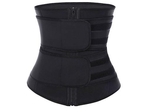 iBs Double Velcro Strap Waist Trainer