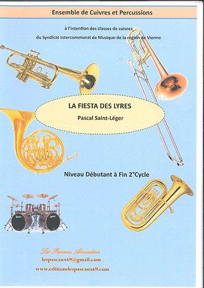 LA FIESTA DES LYRES pour Ensemble de Cuivres et Percussions