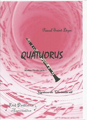 QUATUORUS pour ensemble de Clarinette