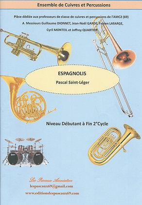 ESPAGNOLIS pour Grand Ensemble de Cuivres et Percussions